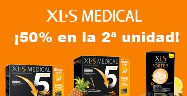 50% en segunda unidad de XLS MEDICAL